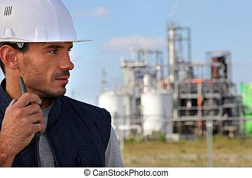 zbudowanie, nadzorca, umiejscawiać