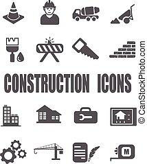 zbudowanie wystawiają, ikona