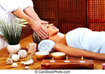 zdrój, massage.