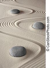 zdrój, rozmyślanie, zen ogród, wellness
