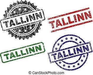zdrapany, textured, tallinn, znak, pieczęcie
