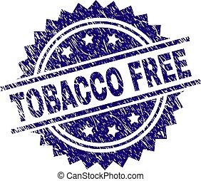 zdrapany, tytoń, tłoczyć, textured, wolny, znak