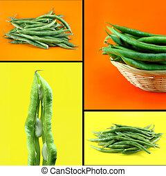 zdravý, a, organický food, pojem