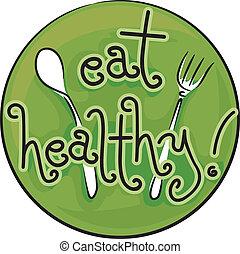zdravý, jíst