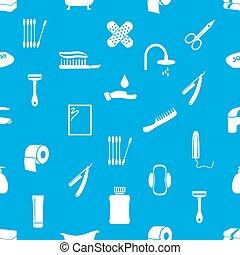 zdravověda, námět, ikona, moderní, jednoduchý, oplzlý i kdy běloba, seamless, model, eps10