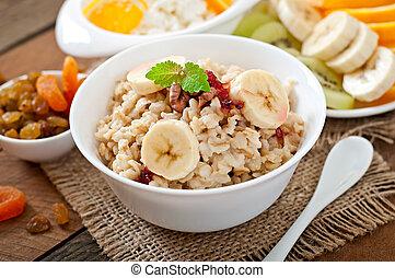 zdrowe śniadanie