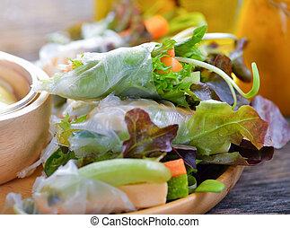zdrowe jadło, ewidencja, sałata