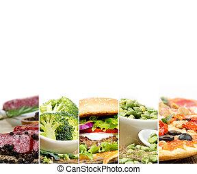 zdrowe jadło, niezdrowy