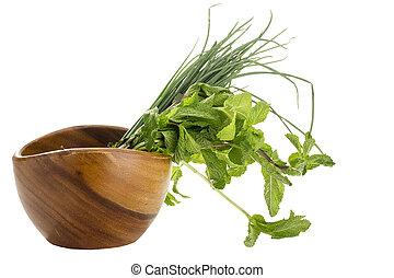 zdrowe jadło, zielony