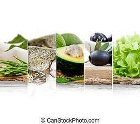 zdrowe jadło, zmieszać