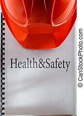zdrowie i bezpieczeństwo, z, hełm