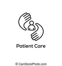 zdrowie, powinowaty, ikona, symbolizm, medyczny, wizerunek, ...