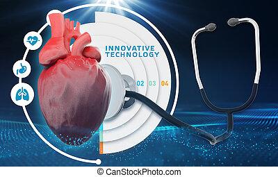 zdrowie, technologia, dane, pacjenci, inteligencja, medyczny, analiza, healthcare, o, pomoc, sztuczny, nowoczesny, diagnosis.