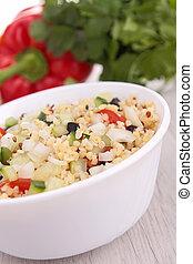 zdrowy, świeży, sałata