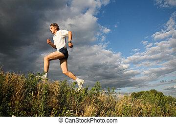 zdrowy, atleta