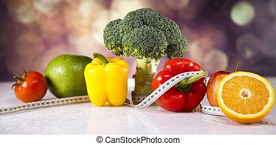 zdrowy lifestyle, pojęcie, witaminy