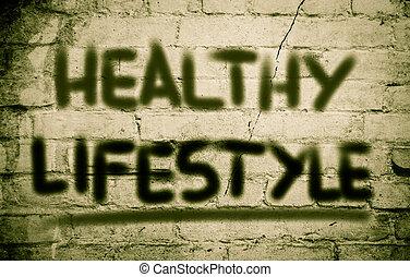 zdrowy lifestyle, pojęcie