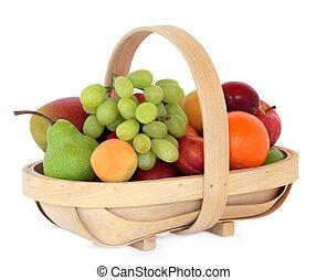 zdrowy, owoc