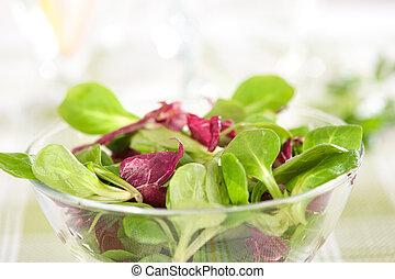 zdrowy, warzywa, sałata