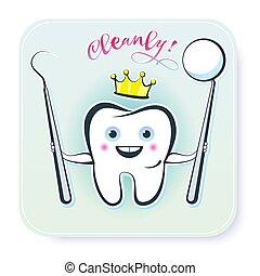 zdrowy, ząb