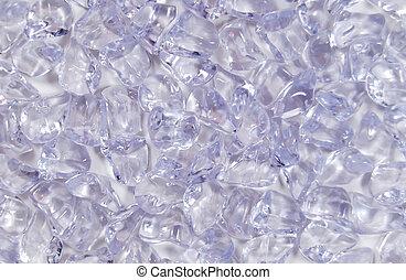 zdruzgotany, struktura, lód