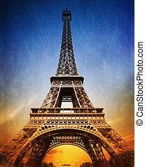 zdumiewający, eiffel wieża