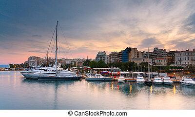 Boats in Zea marina, Piraeus, Athens.