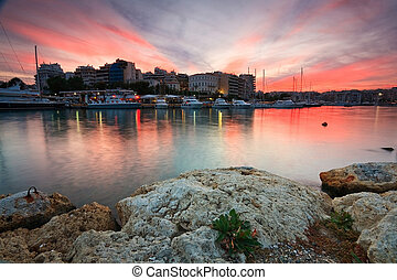 Zea marina in Piraeus, Athens.