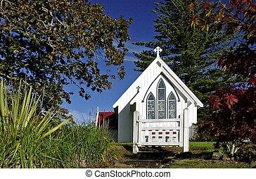 zealand, ジェームズ, st., 教会, 新しい, kerikeri