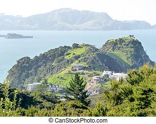 Zealand, 島, 湾, 新しい