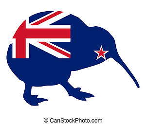 zealand, nuevo, kiwi