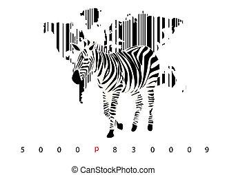 Zebra bar code