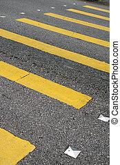 Zebra crossing