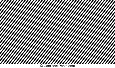 Zebra Line Movement Animation Background. Seamless Loop.