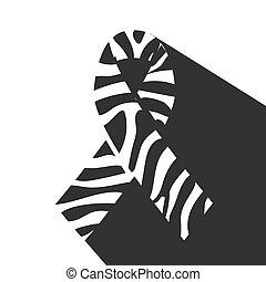 zebra-print, リボン
