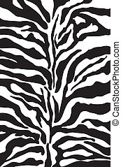 Zebra print background pattern