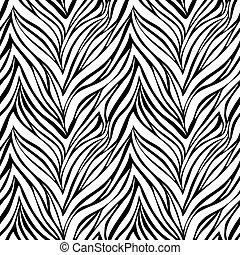 zebra, seamless, texture, peau