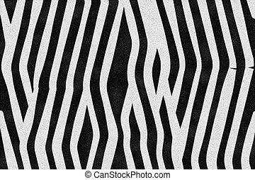 Zebra Stripes - Computer rendering of zerba stripes