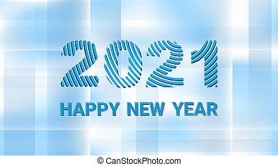 zebrato, felice, fresco, 2021, fondo, fatto, geometrico, nuovo, saluti, astratto, anno