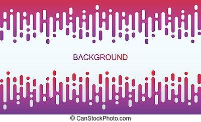 zebrato, imporpori sfondo, pendenza, arrotondato, astratto, verticale