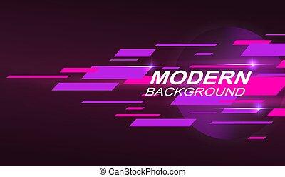 zebrato, rosa, scuro, disegno, viola, pendenza, orizzontale, geometrico
