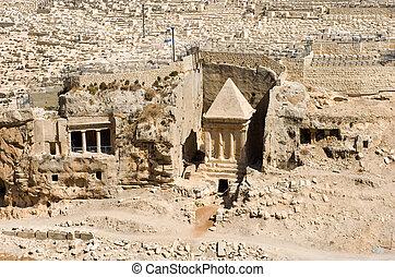 zechariah, tumba