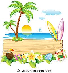 zee, strand
