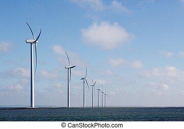 zee, turbines, wind