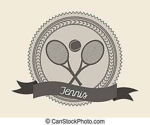 zeehondje, tennis