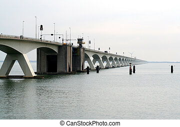 Zeeland bridge - The Zeeland Bridge is the longest bridge in...