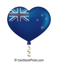 zeeland, hart gedaante, vlag, nieuw