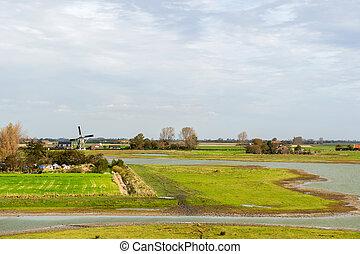 zeeland, landscape, hollandse
