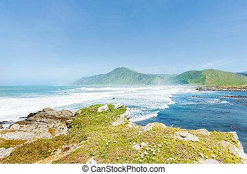 zeeland, nieuw, kust