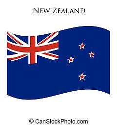 zeeland, nieuw, vlag